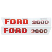 Typenschild - für Ford / New Holland 3000 Ford / New Holland 3000, 3000 US Built