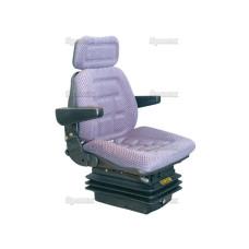 Univeral Komfort Traktorsitz luftfgefedert - Schleppersitz mit Stoffbezug