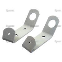 Lampenhalter li/re passend für Nuffield 3/42, 3DL, 4/60, 4DM - NT7259, NT7260