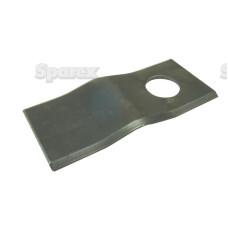25xMesserklinge 106 x 47 x 3mm, Bohrung Ø21mm Rechts/Links für Claas Krone Fahr