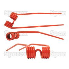 5x Federzinken Heuwender Links passend für Deutz-Fahr 06229776, 1104000150010