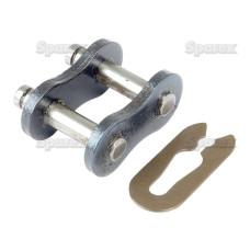 5x Kettenschloss für Antriebskette Rollenkette Simplex, 60-1 H 3/4' x 1/2'