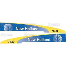 Aufkleber Aufklebersatz Haubenaufkleber Typenschild für Massey Ferguson MF 168
