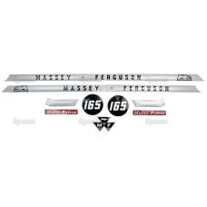 Aufkleber Aufklebersatz Haubenaufkleber Typenschild für Ford / New Holland TM155