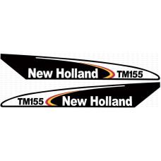 Aufkleber Aufklebersatz Haubenaufkleber Typenschild für Ford / New Holland T6080