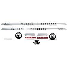 Aufkleber Aufklebersatz Haubenaufkleber Typenschild für Ford / New Holland 7710 Force II
