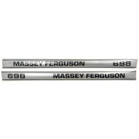 Aufkleber Aufklebersatz Typenschild für Massey Ferguson MF 575 1698129M1 1698218M1
