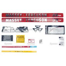Aufkleber Aufklebersatz für Massey Ferguson 35, 35 Gas / 35 Petrol - 189100M91