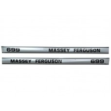 Aufkleber Aufklebersatz für Massey Ferguson MF 699 - 1693073M2, 1693074M2