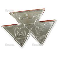 Emblem Typenschild Motorhaube für Massey Ferguson 35 35 Gas / 35 Petrol 35X FE35