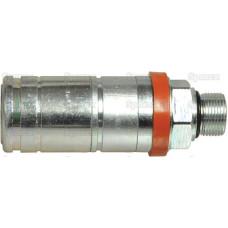 Faster Hydraulikmuffe Muffe 1/2'' Gehäusegröße x M22 x 1.50 Metrisch Außengewinde