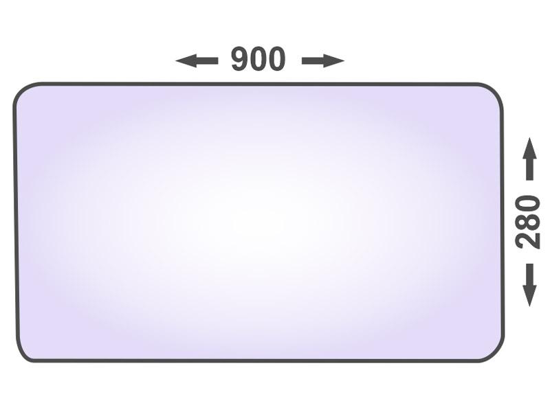 """1012 10 mm Rasenmäher 36/"""" Mähwerk Zentralbohr L=464 mm Westwood Messer f"""